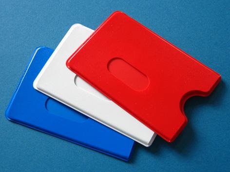 Kartenboxen farbig / Hochformat